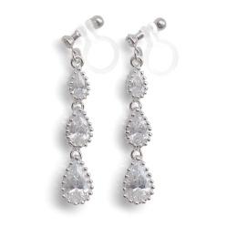 "<img src=""comfortable-bridal-weddding-dangle-chandelier-cz-cubic-zirconia-crystal-invisible-clip-on-earrings-miyabigrace2.jpg"" alt=""pierced look and comfortable Comfortable and pierced look bridal wedding cubic zirconia cz crystal dangle silver teardrop chandelier invisible clip on earrings by MiyabiGrace 夾耳環 ノンホールピアス""/>"