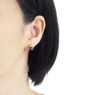 Elegant and gorgeous rhinestone invisible clip on earrings
