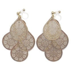 "<img src=""comfortable-pierced-look-dangle-chandelier-filigree-boho-bohemian-gold-invisible-clip-on-earrings-miyabigrace3.jpg"" alt=""pierced look and comfortable Comfortable and pierced look dangle gold filigree chandelier boho invisible clip on earrings by MiyabiGrace MiyabiGrace 夾耳環 ノンホールピアス""/>"