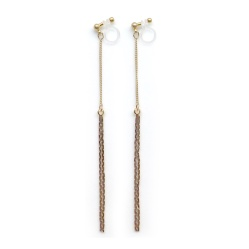 "<img src=""comfortable-pierced-look-dangle-gold-bar-long-chain-threader-minimalist-invisible-clip-on-earrings-miyabigrace2.jpg"" alt=""pierced look and comfortable Comfortable and pierced look dangle long gold chain threader minimalist invisible clip on earrings By MiyabiGrace 夾耳環 ノンホールピアス""/>"