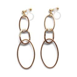 "<img src=""comfortable-pierced-look-dangle-long-modern-trendy-gold-gradated-triple-loop-hoop-invisible-clip-on-earrings-miyabigrace-e5a4bee880b3e792b0-e5a4bee5bc8fe880b3e792b0-e382a4.jpg"" alt=""pierced look and comfortable Comfortable and pierced look dangle gold double triple hoop invisible clip on earrings by MiyabiGrace 耳環夾 ノンホールピアス 夾式耳環""/>"