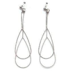 "<img src=""comfortable-pierced-look-dangle-silver-thread-theader-bar-invisible-clip-on-earrings-7.jpg"" alt=""pierced look and comfortable Comfortable and pierced look dangle silver invisible clip on double teardrop hoop earrings 夾耳環 ノンホールピアス MiyabiGrace""/>"