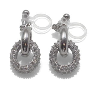 "<img src=""comfortable-pierced-look-dangle-silver-hoop-ring-cubic-zirconoa-crystal-pave-invisible-clip-on-earrings-miyabigrace7.jpg"" alt=""pierced look and comfortable Comfortable and pierced look bridal wedding dangle silver micro pave cubic zirconia cz crystal ring invisible clip on earrings bridal jewelry by MiyabiGrace 夾耳環 ノンホールピアス 夾式耳環""/>"