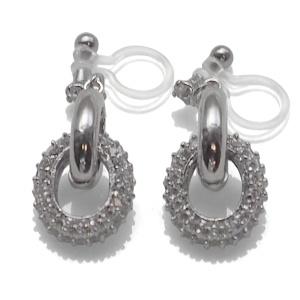 "<img src=""comfortable-pierced-look-dangle-silver-hoop-ring-cubic-zirconoa-crystal-pave-invisible-clip-on-earrings-miyabigrace7.jpg"" alt=""pierced look and comfortable Comfortable and pierced look bridal wedding dangle silver micro pave cubic zirconia cz crystal ring invisible clip on earrings bridal jewelry by MiyabiGrace 夾耳環 ノンホールピアス 夾式耳環""/>"