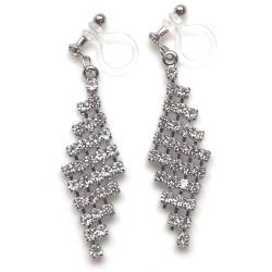 "<img src=""dangle-bridal-wedding-lozenge-mesh-rhinestone-crystal-chandelier-invisible-clip-on-earrings5.jpg"" alt=""pierced look and comfortable Pierced look and comfortable dangle wedding bridal lozenge rhinestone crystal chandelier invisible clip on earringss 耳環夾ノンホールピアス""/>"