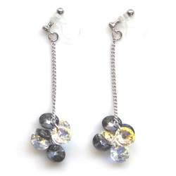 "<img src=""dangle-round-black-diamond-and-aurora-borealis-swarovski-crystal-invisible-clip-on-earrings5.jpg"" alt=""pierced look and comfortable pierced look and comfortable dangle black aurora borealis swarovski crystal invisible clip on earrings 耳環夾 ""/>"