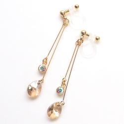 "<img src=""dangle-teardrop-light-orange-golden-shadow-swarovski-crystal-invisible-clip-on-earrings15.jpg"" alt=""pierced look and comfortable Wedding bridal Dangle light orange golden shadow swarovski crystal invisible clip on earrings non pierced earrings""/>"