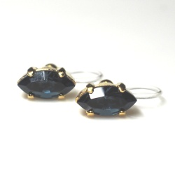 "<img src=""navy-blue-montana-diamond-marquise-swarovski-invisible-clip-on-earrings2.jpg"" alt=""pierced look and comfortable Navy Blue Montana Diamond Marquise Swarovski Crystal Invisible Clip on Earrings""/>"