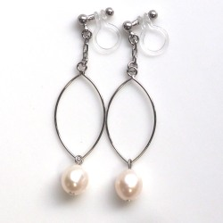 "<img src=""pearl-earrings-14-6.jpg"" alt=""pierced look and comfortable silver hoop freshwater pearl invisible clip on earrings non pierced""/>"
