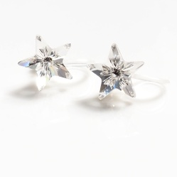 "<img src=""shooting-star-swarovski-crystal-invisible-clip-on-earrings-non-pierced-earrings-7.jpg"" alt=""pierced look and comfortable Shooting Stars Clear Swarovski Crystal Invisible Clip on Earrings""/>"