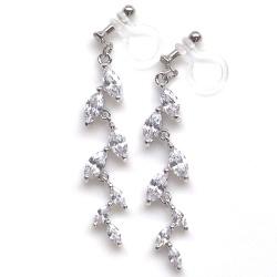 "<img src=wedding-leaf-cz-cubic-zirconia-crystal-invisible-clip-on-earrings7.jpg"" alt=""diamond cubic zirconia leaf wedding bridal invisible clip on earrings MiyabiGrace""/>"