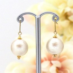 Japanese cotton pearl earrings_MiyabiGrace1