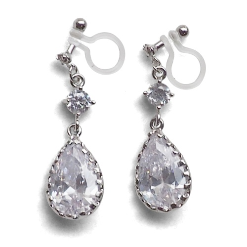 4af293136 They are dangle Swarovski teardrop crystal earrings! The Swarovski crystals  sparkle around your face and bright you up. You will become an actress on  the ...
