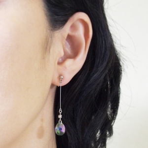 "<img src=""dangle-teardrop-green-black-paradise-shine-swarovski-crystal-invisible-clip-on-earrings1.jpg"" alt=""pierced look and comfortable dangle green black crystal paradise shine swarovski crystal invisible clip on earrings""/>"