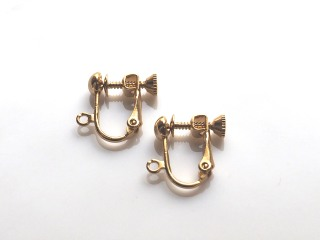 screw back clip on earrings