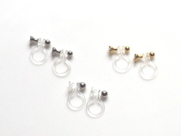 """<img src=""""invisible-clip-on-earrings-_-miyabigrace-2.jpg"""" alt=""""pierced look and comfortable invisible clip on earrings by MiyabiGrace""""/>"""