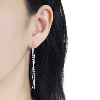 Elegant and gorgeous invisible clip on earrings