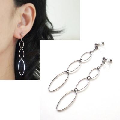 "<img src=""dangle-gradated-silver-hoop-invisible-clip-on-earrings-non-pierced-earrings"" alt=""pierced look and comfortable dangle gradated silver hoop invisible clip on earrings non pierced earrings""/>"