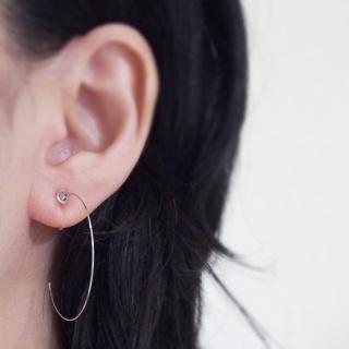 Open CoffinEarring l Resin Earring l Alternative