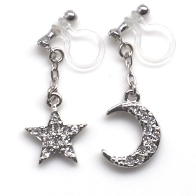 "<img src=""dangle-silver-cystal-pave-rhinestone-moon-and-star-invisible-clip-on-earrings6.jpg"" alt=""pierced look and comfortable Pierced look and comfortable dangle star and moon rhinestone crystal invisible clip on earrings 耳環夾 ノンホールピアス イヤリング""/>"
