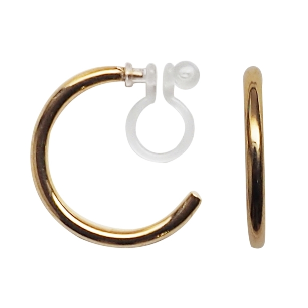 Comfortable-pierced-look-elegant-small-gold-simple-hoop-Invisible-clip-on-earrings-Miyabi-Grace10.jpg
