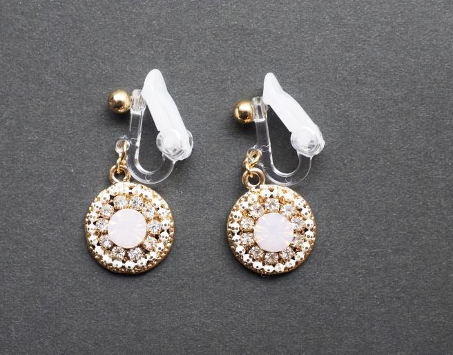 Miyabi Grace Plastic Soft clip on earrings comfortable pierced look 2.JPG
